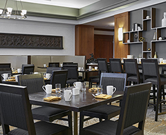 University Club dining area